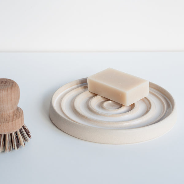 Drip Plate, Soap Dish - DOR & TAN | Contemporary Handmade Tableware