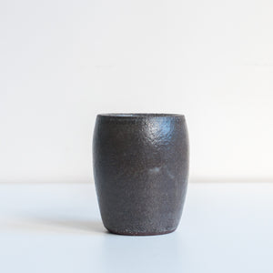 Small Tumbler - Charcoal, Tumbler - DOR & TAN | Contemporary Handmade Tableware