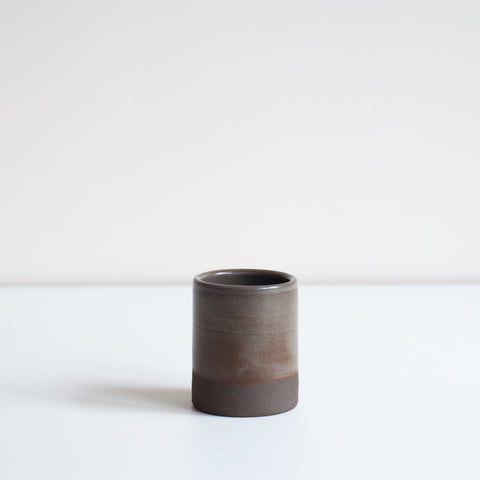 Small Black Tumbler, Espresso Cups - DOR & TAN | Contemporary Handmade Tableware