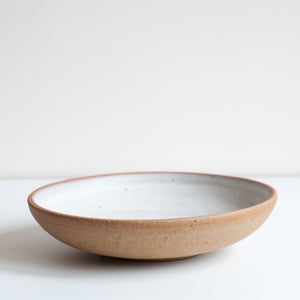 Shallow Footed Bowl, Bowl - DOR & TAN | Contemporary Handmade Tableware