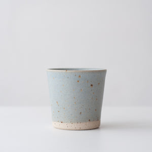 Beaker - Linen Blue & Speckled