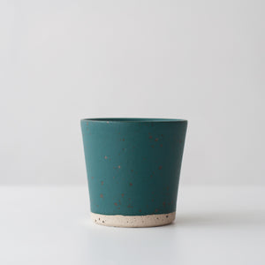 Beaker - Nori Green & Speckled, Beaker - DOR & TAN | Contemporary Handmade Tableware