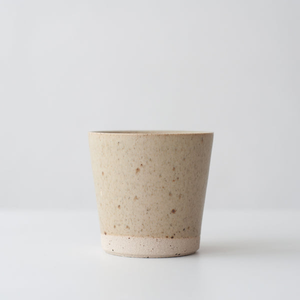 Beaker - Spelt & Speckled, Beaker - DOR & TAN | Contemporary Handmade Tableware