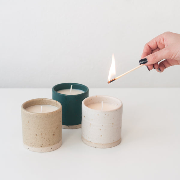 EVENTIDE Candle - 160g, Candle - DOR & TAN | Contemporary Handmade Tableware