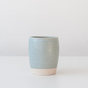 Tumbler - Linen Blue, Tea Bowl - DOR & TAN | Contemporary Handmade Tableware