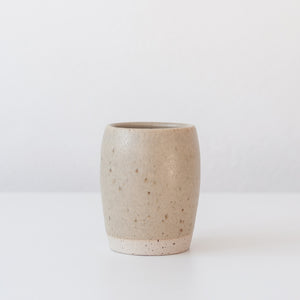 Tumbler - Spelt & Speckled, Tea Bowl - DOR & TAN | Contemporary Handmade Tableware