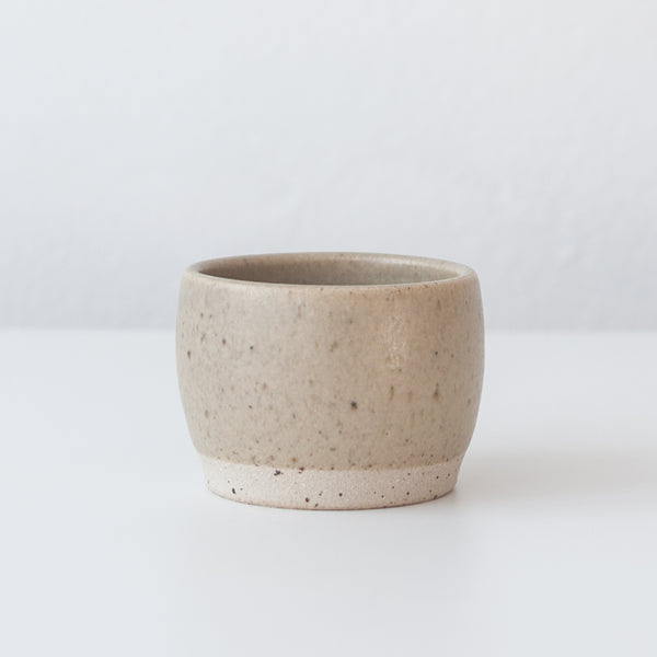 Tea Bowl - Spelt & Speckled, Tea Bowl - DOR & TAN | Contemporary Handmade Tableware