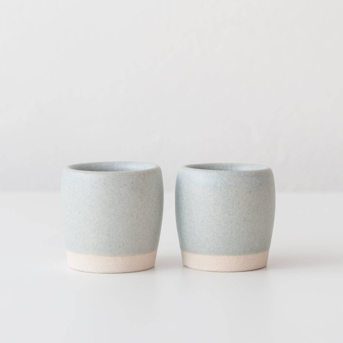 Espresso Cups - Linen Blue, Espresso Cups - DOR & TAN | Contemporary Handmade Tableware