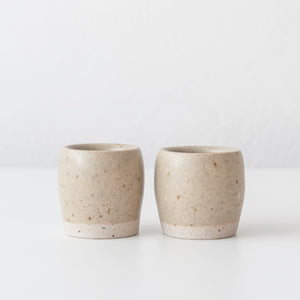Espresso Cups - Spelt & Speckled, Espresso Cups - DOR & TAN | Contemporary Handmade Tableware
