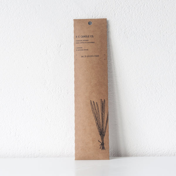 Golden Coast Incense, Incense Sticks - DOR & TAN | Contemporary Handmade Tableware
