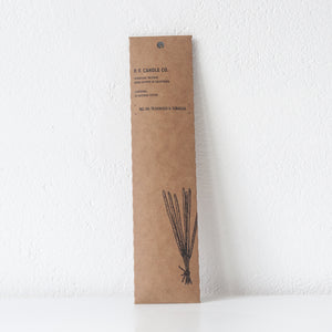 Teakwood and Tabacco Incense, Incense Sticks - DOR & TAN | Contemporary Handmade Tableware