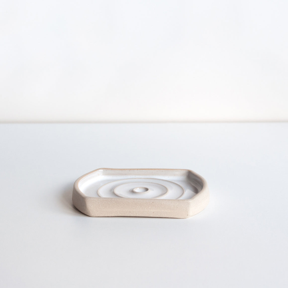 Drip Soap Dish - Rectangular, Soap Dish - DOR & TAN | Contemporary Handmade Tableware