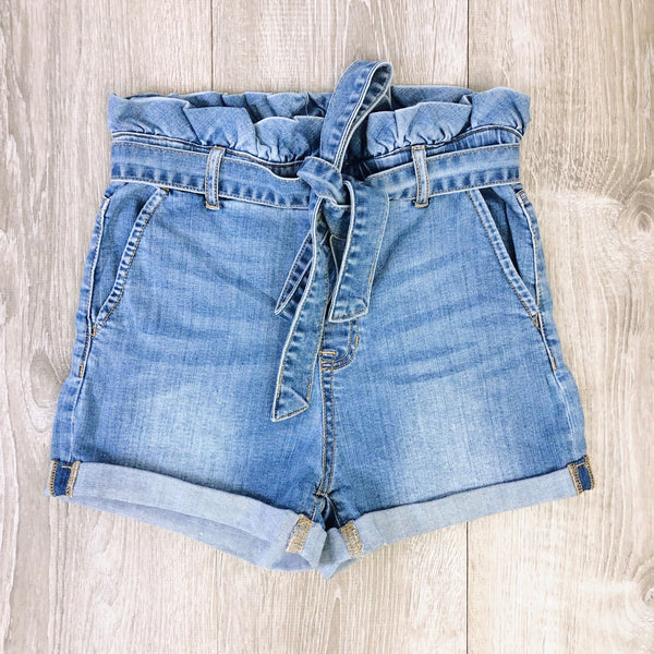hallie high waisted jean shorts