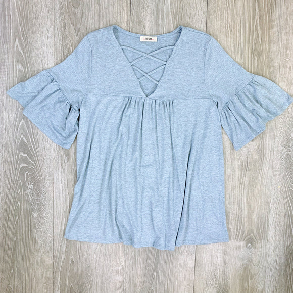 cari criss cross top