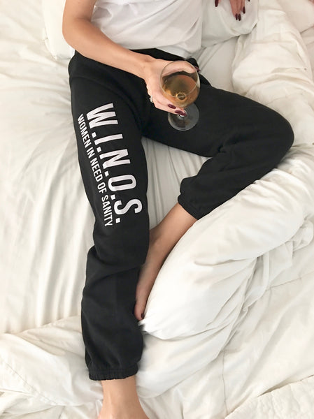 w.i.n.o.s. women in need of sanity sweatpants