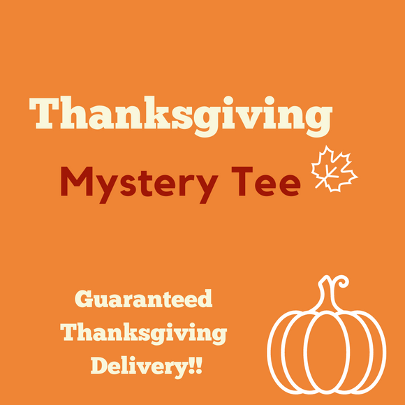 thanksgiving mystery tee
