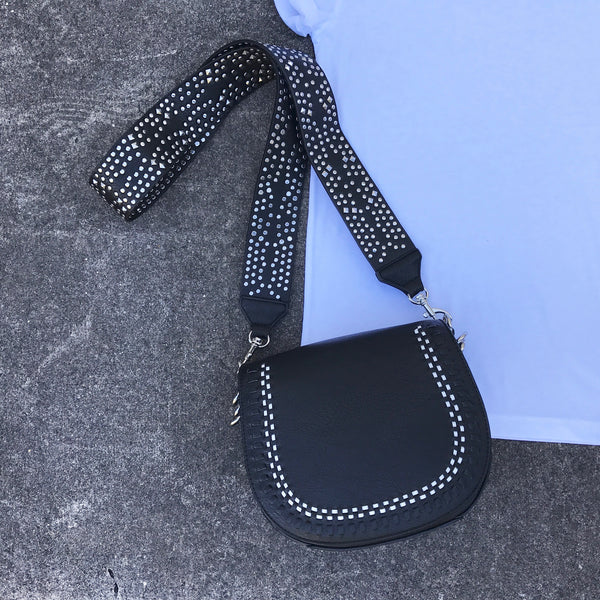 suri studded crossbody bag