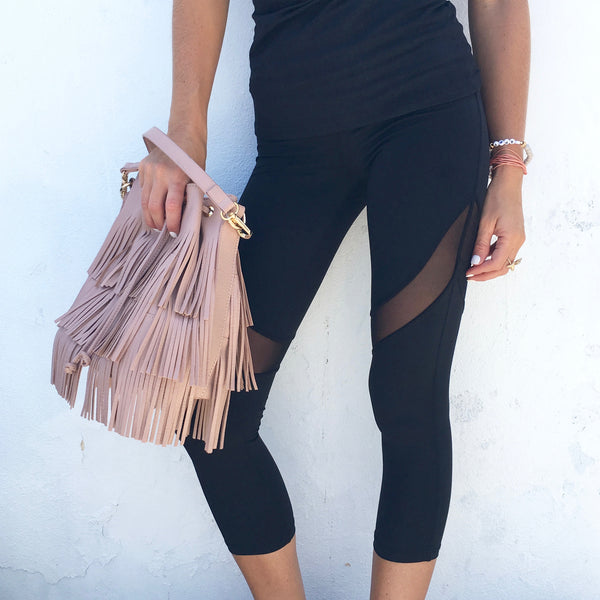 krysta mesh leggings