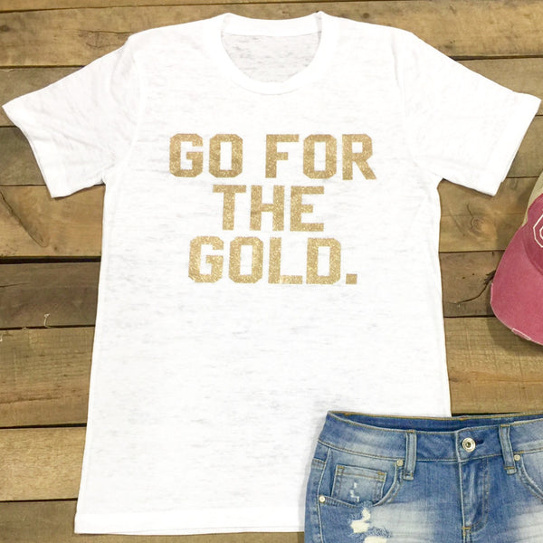 go for the gold tee