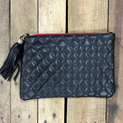holden quilted clutch
