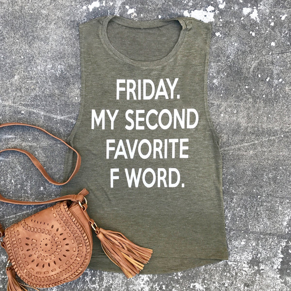 friday is my second favorite f word tank