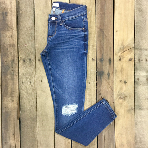 ajax distressed denim jeans