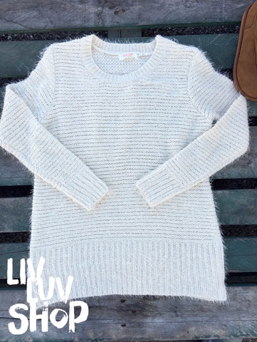 shiloh cream knit sweater