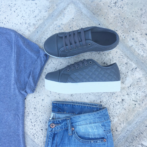 channing quilted sneakers