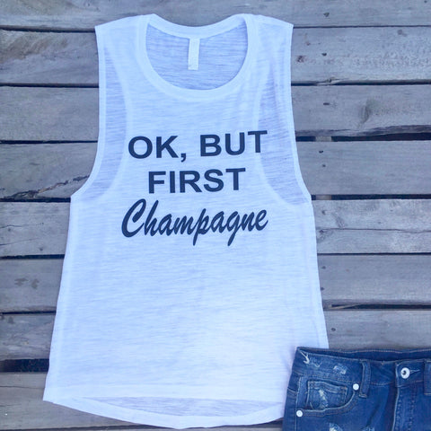 but first champagne tank