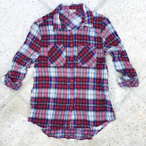 patsy plaid button down