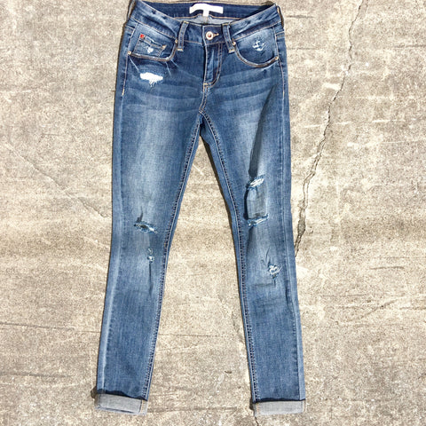 lilly distressed jeans
