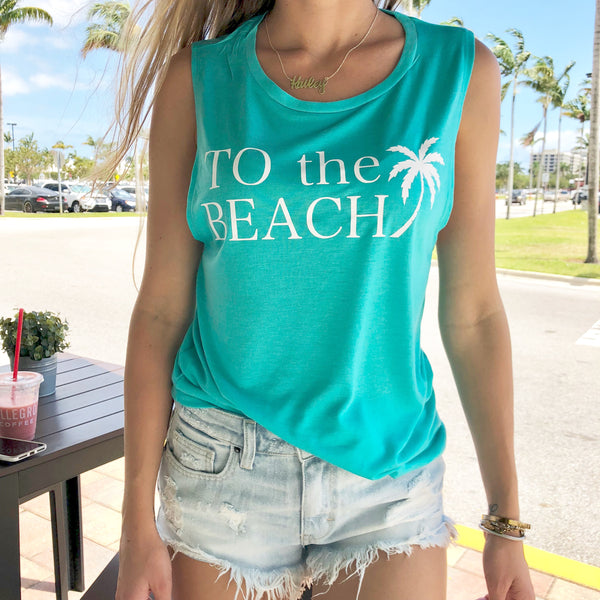 to the beach tank