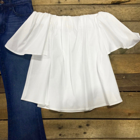 miller cold shoulder top