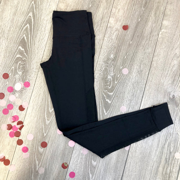 black goddess leggings