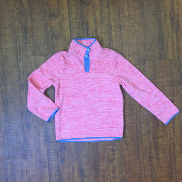 girls button sweater