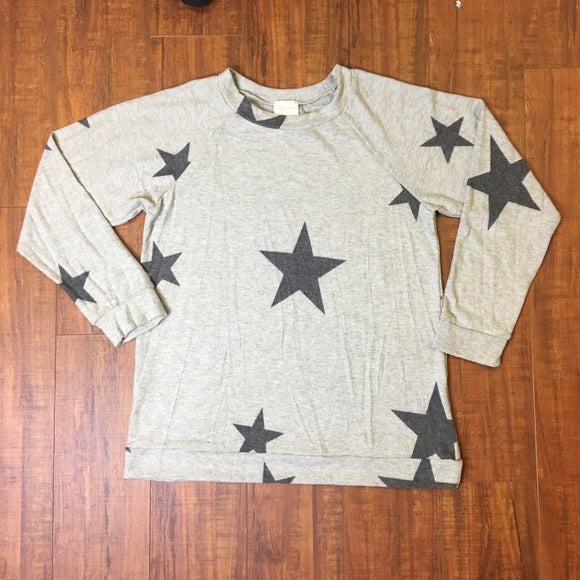 fleece star sweatshirt