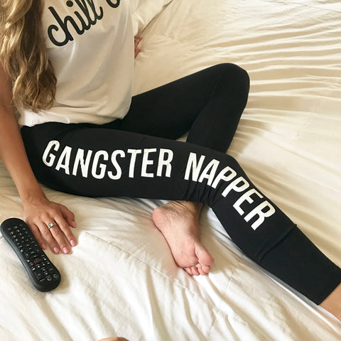 gangster napper leggings