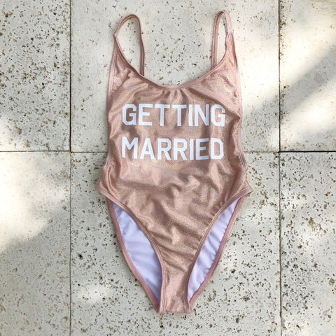 getting married bathing suit