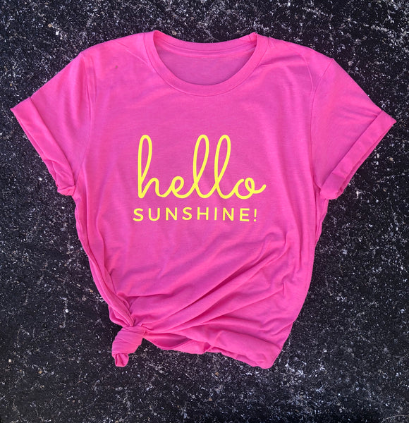 Hello Sunshine Tee