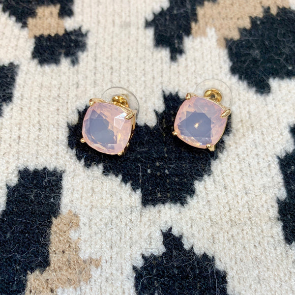 kate peach earrings