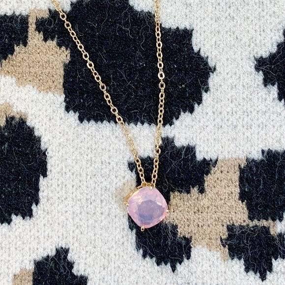 kate peach necklace