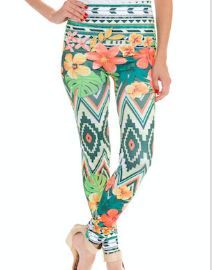 maxwell print leggings