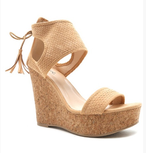 corrie cork wedges
