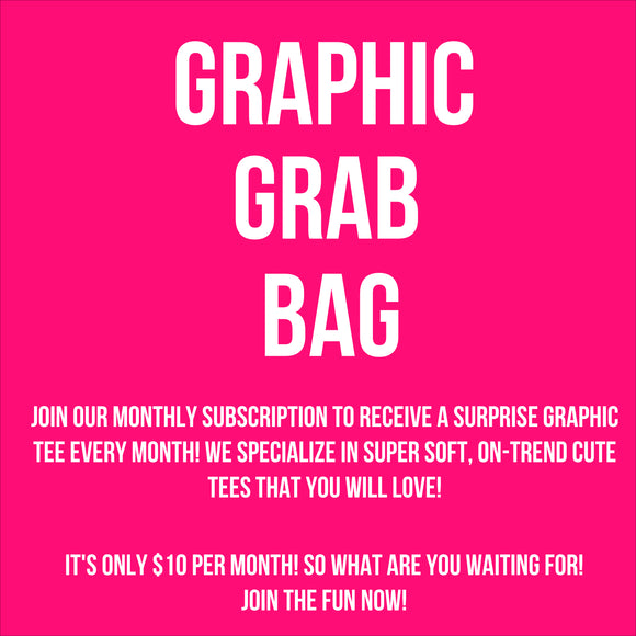 surprise graphic tee {monthly tee subscription}