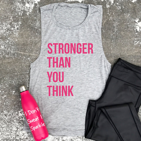 stronger than you think tank