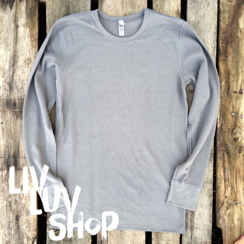 layla long sleeve thermal tee
