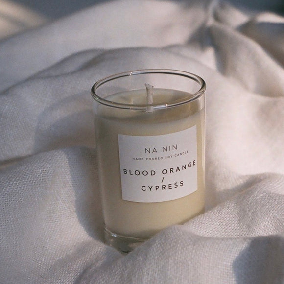 Na Nin Blood Orange & Cypress Candle