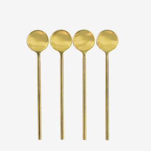 Gold Thin Spoons