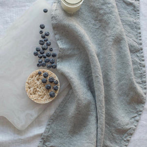Chambray Tea Towel Grey