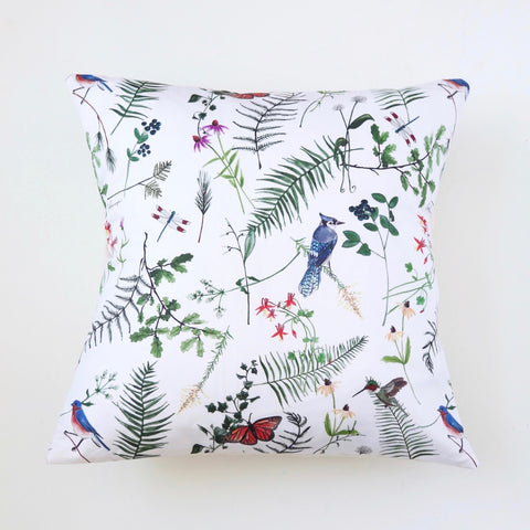 CAIT COURNEYA x GRAY Botanical Pillow Cover